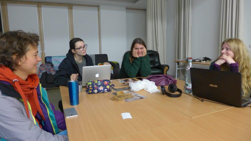 Textile Arts, Master Class, Vilnius Art School
