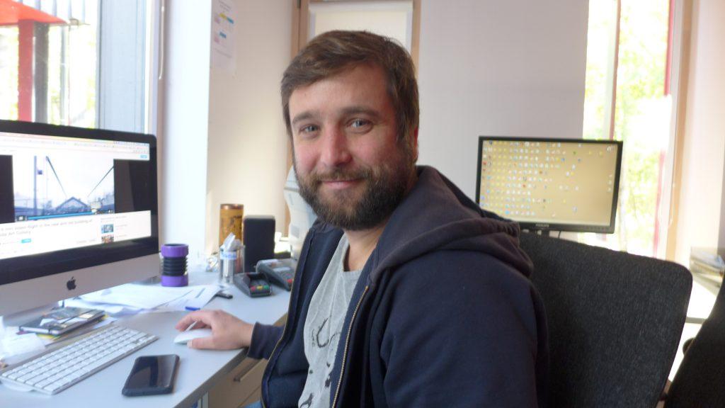 Linas Ramanaukas, Office Manager