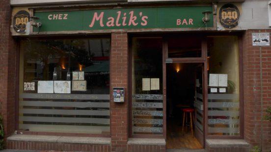 Bar Chez Malik's in St. Georg