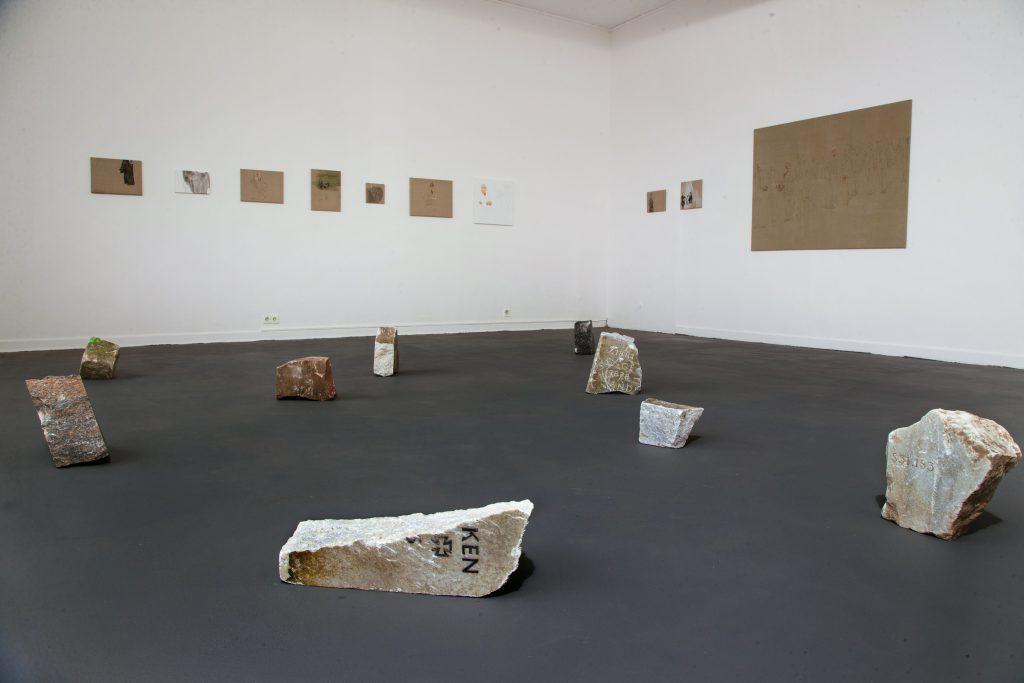 © Malerei und Installation, Greta Rauer, Kunsthalle Hamburg
