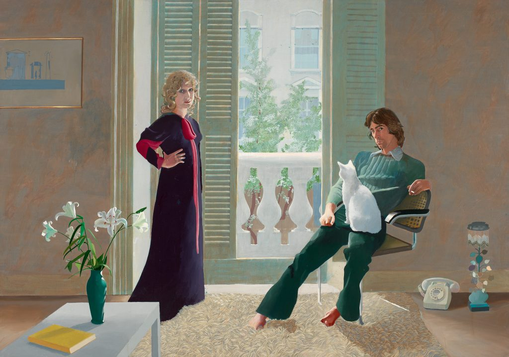 @ David Hockney: Mr and Mrs Clark and Percy, 1970 Foto: Tate