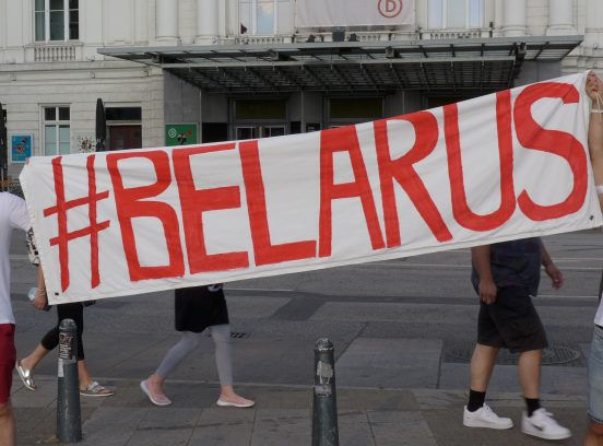 Belarus - Proteste in Hamburg