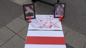 Zwei Todesopfer der Demonstrationen, Alexander Taraikowskij und Alexander Vikhor