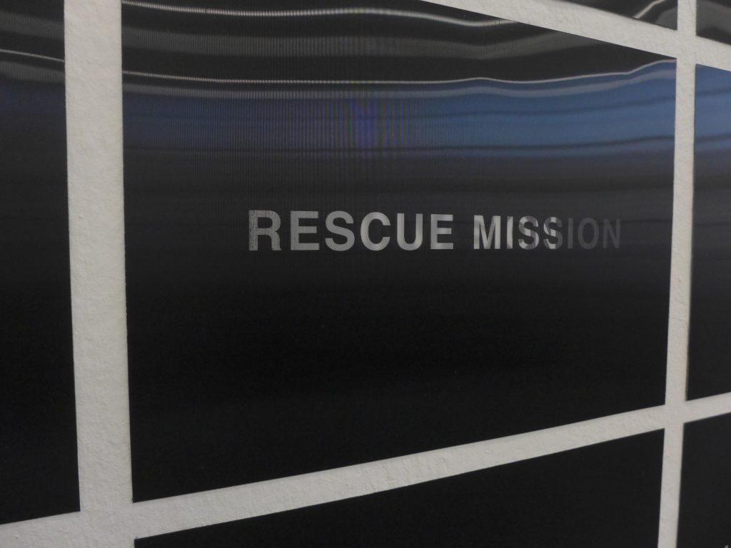 Eine engagierte Rettungsmission oder tatsächlich ...