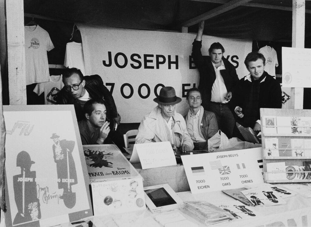 © Siegfried Sander, Joseph Beuys auf der documenta 7