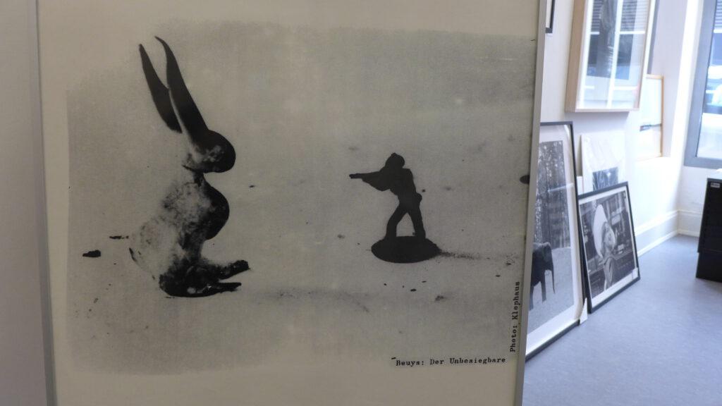 Wahlplakat der Grünen von Joseph Beuys