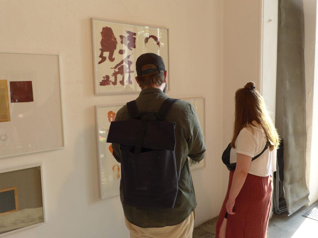 """Vernissage """"Joseph Beuys zu Ehren"""" in der Galerie Kammer"""