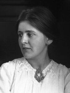 Künstlerin Dorothea Maetzel-Johannsen, 1920