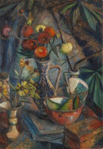 Dorothea Maetzel-Johannsen, Stillleben mit Blumen