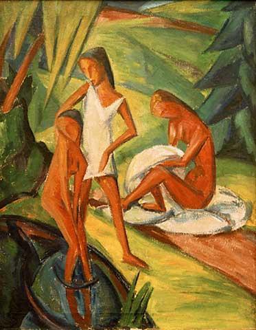 Dorothea Maetzel-Johannsen, Drei Frauen am Wasser